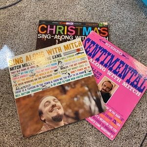 Bundle of sing along with Mitch Miller records